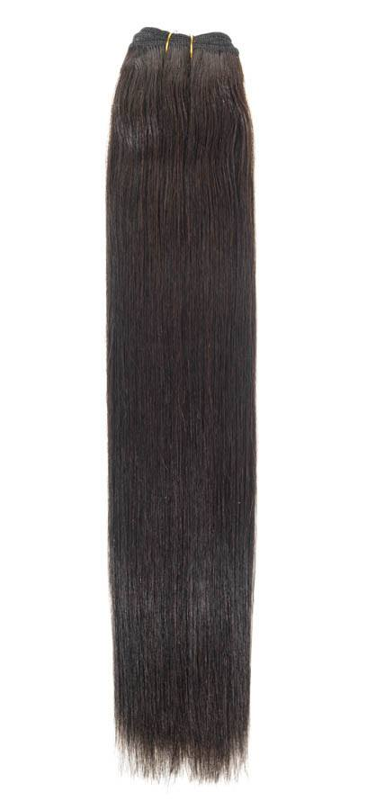 "Euro Weave Hair Extensions 24"" Colour 1B Barely Black"