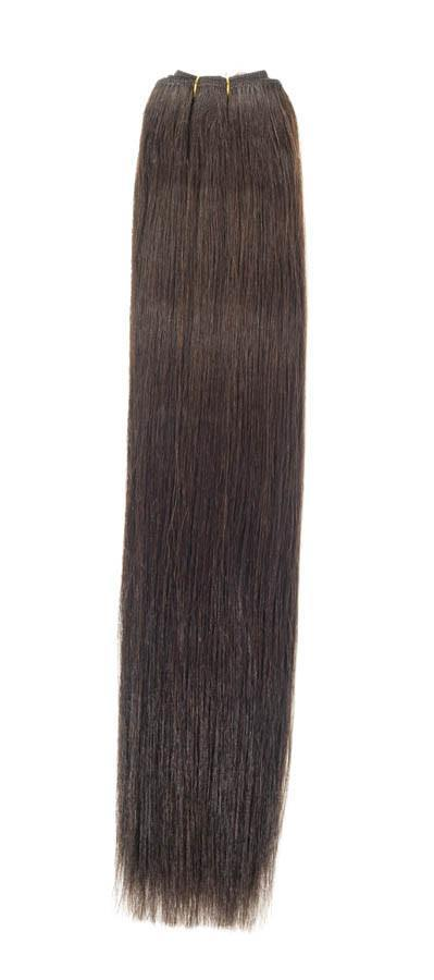 "Euro Weave Hair Extensions 26"" Colour 2 Brownest Brown"