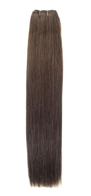 "Euro Weave Hair Extensions 26"" Colour 3 Dark Brown - Beauty Hair Products Ltd"