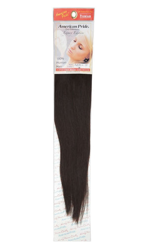 Full Head | Clip in Hair | 18 inch | Barely Black (1B) - Beauty Hair Products LtdHair Extensions
