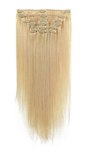 Full Head | Clip in Hair | 22 inch | Blondie Blonde (22) - Beauty Hair Products LtdHair Extensions