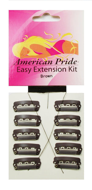 Hair Extension Clips | Dark Brown - Beauty Hair Products LtdHair Extensions