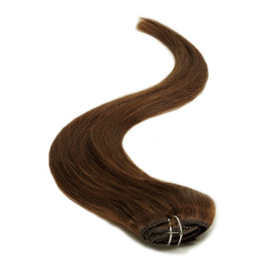 Half Head | Clip in Hair | 18 Inch | Brown 4 - Beauty Hair Products LtdHair Extensions