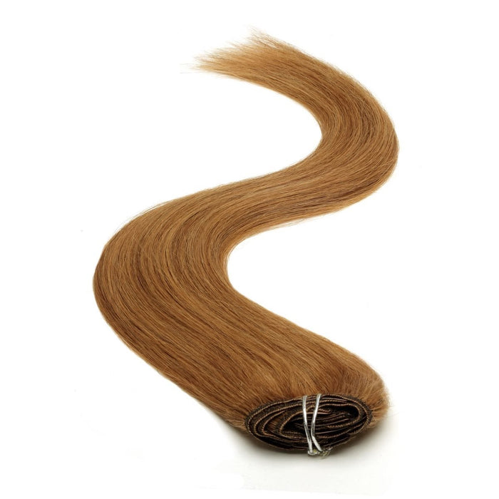 Half Head | Clip in Hair | 18 Inch | Hazel Brown 5B
