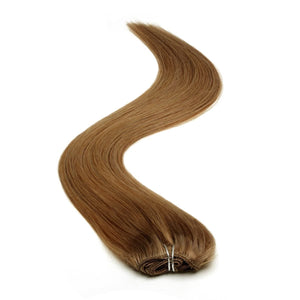 Half Head | Clip in Hair | 18 Inch | Mousey Brown 8 - Beauty Hair Products LtdHair Extensions