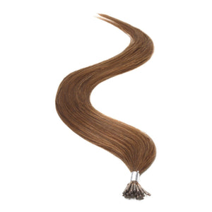 "I-Tip Human Hair Extensions 18"" Chocolate Brown (4) - Beauty Hair Products LtdHair Extensions"