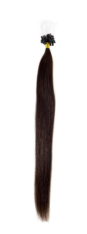 Micro Ring Hair Extensions | 18 inch Brownest Brown (2) - Beauty Hair Products LtdHair Extensions