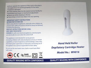 Roll On Wax Heater | Depilatory Cartridge Heater | Professional - Beauty Hair Products LtdWax Heaters