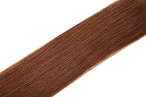 "Single Weft Clip in Hair 18"" Auburn 30 - Beauty Hair Products LtdHair Extensions"
