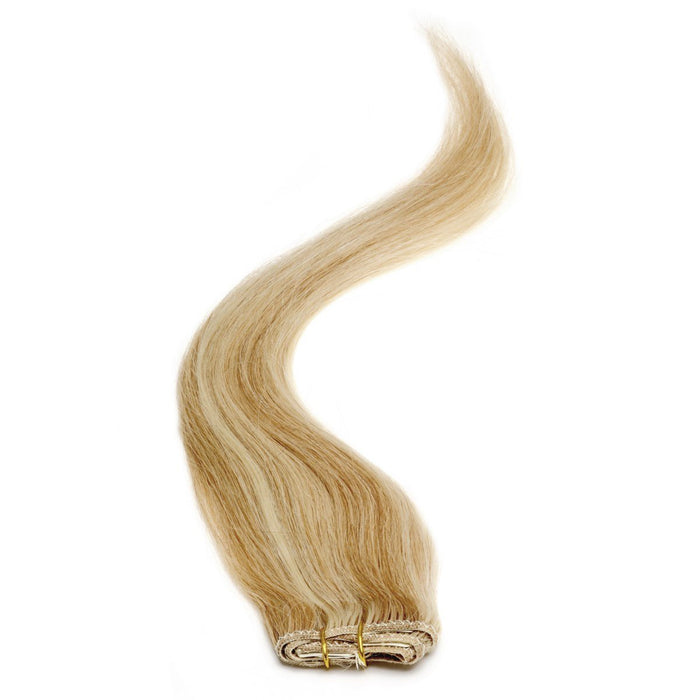 "Single Weft Clip in Hair 18"" Blondest Bronze / Blonde (22-27)"