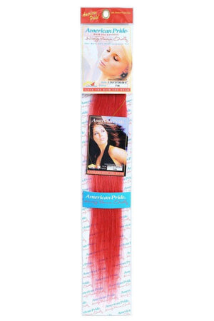 "Single Weft Clip in Hair 18"" RED - Beauty Hair Products Ltd"