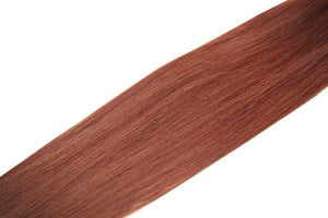 "Single Weft Clip in Hair 18"" Spiced Auburn 32 - Beauty Hair Products LtdHair Extensions"