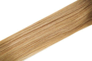 "Single Weft Clip in Hair 18"" Warm Blonde Blend 27s - Beauty Hair Products LtdHair Extensions"