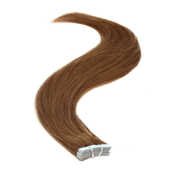 Tape in Hair Extensions | 18 inch | 20ps | 50g | Chocolate Brown (6)