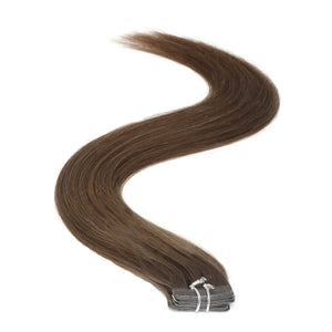 Tape in Hair Extensions | 18 inch | 20ps | 50g | Dark Brown (3) - Beauty Hair Products Ltd
