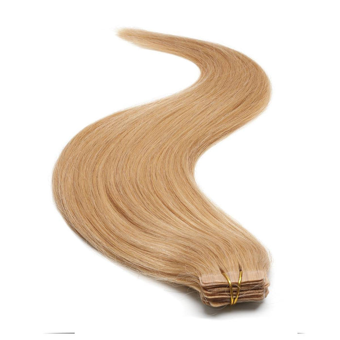 Tape in Hair Extensions | 18 inch | Caramel Blond 25