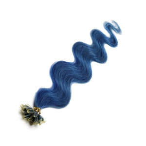 "U Tip Human Hair Extensions 18"" BLUE - Beauty Hair Products LtdHair Extensions"