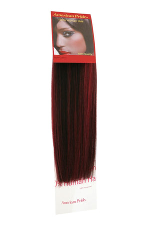"Yaki Weave Hair Extensions 12"" 1B/Burgundy - Beauty Hair Products LtdHair Extensions"