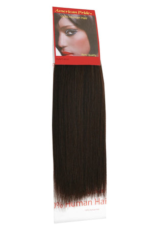 Yaki Weave | Human Hair Extensions | 10 Inch | Barely Black (1b) - Beauty Hair Products Ltd