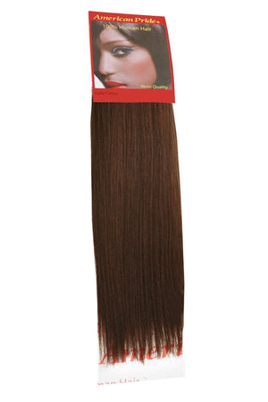 Yaki Weave | Human Hair Extensions | 10 Inch | Dark Brown (3) - Beauty Hair Products Ltd