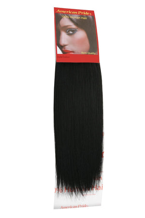 Yaki Weave | Human Hair Extensions | 12 Inch | Jet Black (1) - Beauty Hair Products LtdHair Extensions