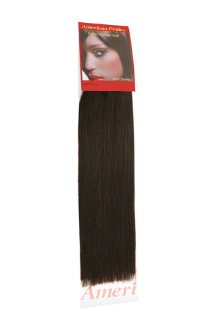 Yaki Weave | Human Hair Extensions | 14 Inch | Barely Black (1b) - Beauty Hair Products Ltd