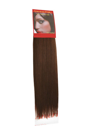 Yaki Weave | Human Hair Extensions | 16 Inch | Dark Brown (3) - Beauty Hair Products Ltd