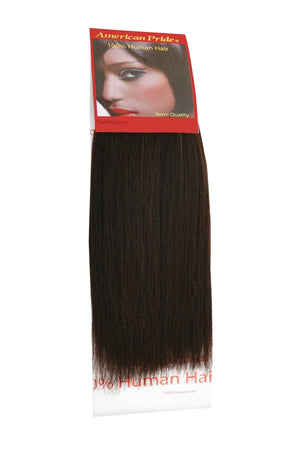 Yaki Weave | Human Hair Extensions | 8 Inch | Barely Black (1B) - Beauty Hair Products LtdHair Extensions