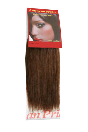 Yaki Weave | Human Hair Extensions | 8 Inch | Brown (4) - Beauty Hair Products LtdHair Extensions