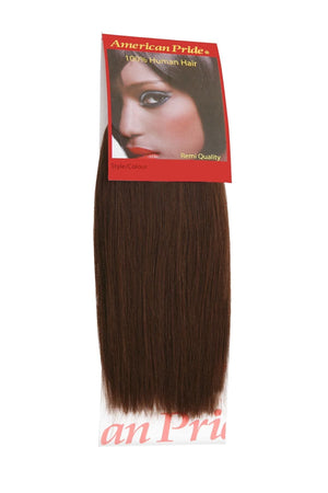 Yaki Weave | Human Hair Extensions | 8 Inch | Dark Brown (3) - Beauty Hair Products LtdHair Extensions