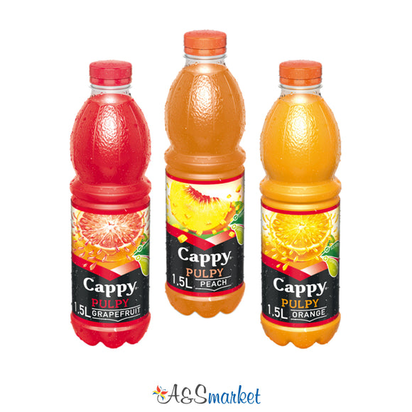 Cappy Pulpy - 1.5l