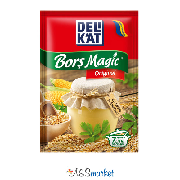 Borș magic original - Delikat - 20g