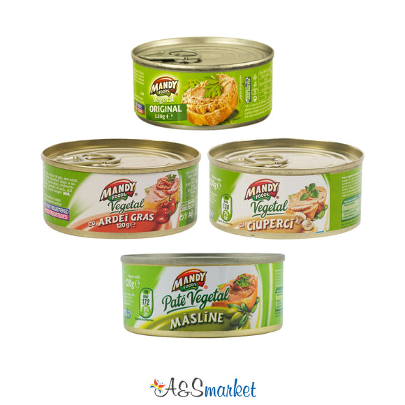 Pate vegetal - Mandy - 120g