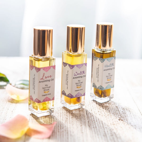 Love, Health and Wealth Anointing Oil 3-Pack