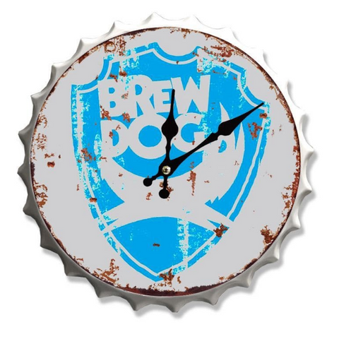 Brewdog Bottle Top Clock