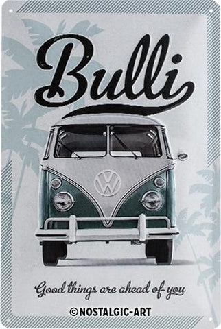 VW Volkswagen Bulli 20x30cm Tin Sign