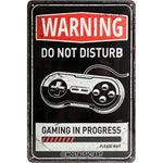 Warning Do Not Disturb 20x30cm sign