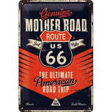 Route 66 20x30cm sign