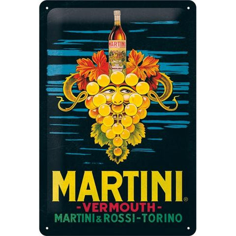 Martini 20x30cm sign