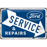 Ford Service & Repair 20x30cm sign