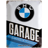 BMW Garage 30x40cm sign