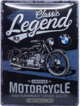 BMW Classic Legend 30x40cm Tin Sign