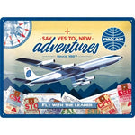 Pan Am New Adventures 30x40cm sign