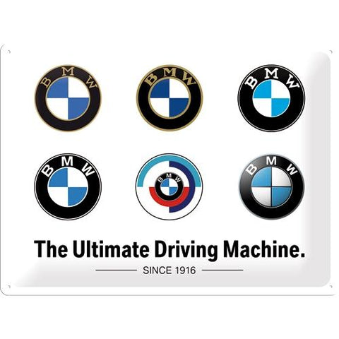 BMW The Ultimate Driving Machine 30x40cm Tin Sign
