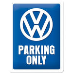VW Volkswagen Parking Only 15x20cm sign