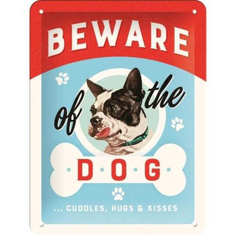 Beware of the Dog 15x20cm sign