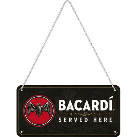 Bacardi Hanging Sign