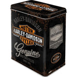 Harley Davidson Large Tin
