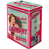 Laundry Large Tin