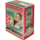 Coffee Large Tin